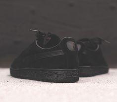 Puma Suede Classic-Black All Black Puma Suede aa333d953