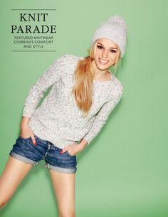 I'm obsessed with this beanie but can't find it online :( #JackWills Glamorous Daytime Elcombe Jumper #GREENSHOOTS