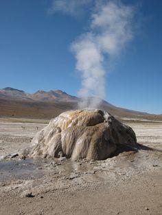 Geyser - Désert d'Atacama - Chili