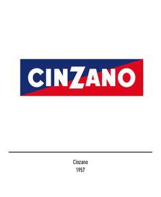 Massimo Vignelli Cinzano logo