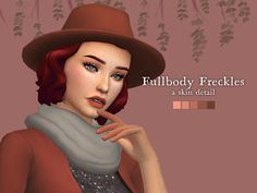 Nolan Sims here. Here is another piece of old CC of mine that deserved an update. This is an old request I received by a follower of mine. I hope you'll enjoy! Info & Download Below![[MORE]]Freckle...