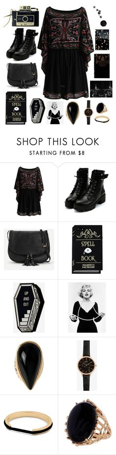 """""""Witch with a camera"""" by yasmin-sm-vince ❤ liked on Polyvore featuring Chicwish, Diane Von Furstenberg and New Look"""