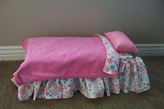"""18"""" doll DIY bed!"""