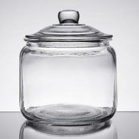 Food Storage Jars | Ingredient Canisters Gallon Glass Jars, Glass Jars With Lids, Jar Lids, Glass Containers, Glass Food Storage, Jar Storage, Pops Diner, Restaurant Supply Store, Cafe Restaurant