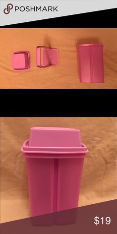 Tupperware pic-a-deli Store your pickles, beers, olives. Make your own dryer sponges. Great little container for the fridge or cleaning supplies. Good storage for girls hair accessories too😊 1 Madison Other