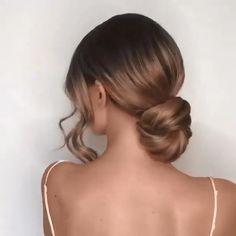 Undercut Hairstyles Women, Easy Hairstyles, Hairstyle Ideas, Bridal Hairstyles, Vintage Bridesmaid Hairstyles, Lower Bun Hairstyles, Classic Updo Hairstyles, Spanish Hairstyles, Interview Hairstyles