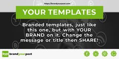 BrandYourPost - Your online templates