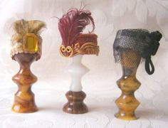 Learn To Make   A Miniature Ladies   1920's Hat
