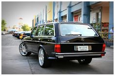 Mercedes-Benz W123 BRABUS WAGON | BENZTUNING