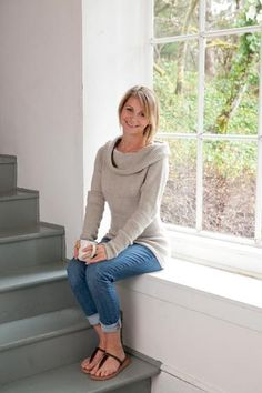 Misty Morning Sweater - Knitting Patterns and Crochet Patterns from KnitPicks.com