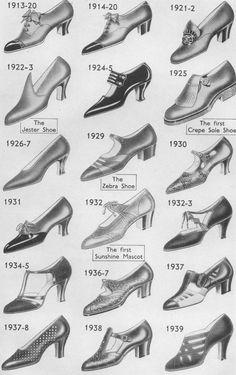 Norvic photos Quinton - Shoes 20thC.jpg (1305px x 2075px)