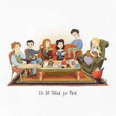 Η εικόνα ίσως περιέχει: 1 άτομο Serie Friends, Friends Episodes, Friends Moments, Friends Show, Friends Forever, Friends Illustration, Friends Poster, Karen, Favorite Tv Shows