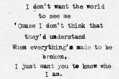 Iris by the Goo Goo Dolls such a great song:)