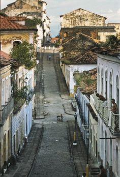 Brazil - Maranhao Buildings of the historical centre of Sao Luis