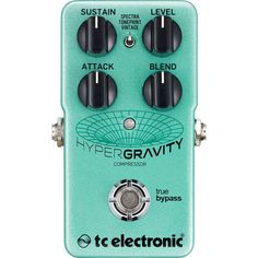 TC Electronic HyperGravity Compressor Effect Pedal