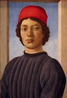 Filippo Lippi | 1406-1469, Italy | portrait of a youth, 1485 | National Gallery of Art, Washington DC
