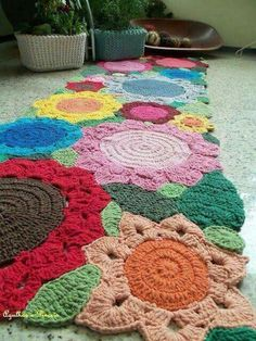Crochet #HomemadeRugs