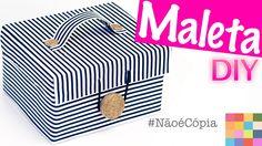 DIY - Caixa Organizadora 10 | Projeto #NãoéCopia