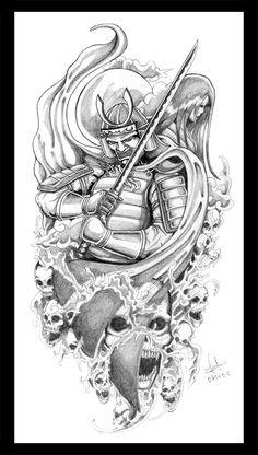 Japanese Samurai Tat