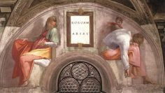 Rehoboam - Abijah - Gallery of Sistine Chapel ceiling - Wikipedia, the free encyclopedia