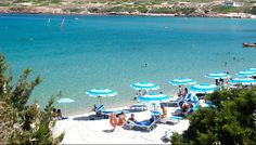 """The public #beach of """"La Marinedda"""", recently voted by the magazine Bell'Italia as one of the ten """"paradises of #sea and sand in #Sardinia which you have to visit at least once in your life""""."""