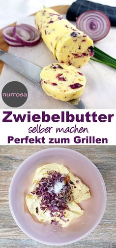 Make onion butter yourself Delicious barbecue butter / herb butter recipe. Match with : Make onion butter yourself Delicious barbecue butter / herb butter recipe. Match with. Hamburger Meat Recipes, Herb Butter, Vegetable Drinks, Grilled Meat, Butter Recipe, Party Snacks, Pampered Chef, Finger Foods, Low Carb