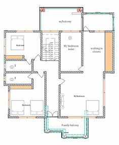 House Plan ID-15336, 5 bedrooms with 8921+2266 bricks and 125 corrugates Tv Showcase, Layout Site, Monster House Plans, Roof Plan, Furniture Layout, Floor Plans, Bricks, How To Plan, Building