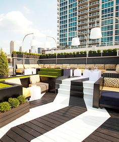 We don't blame you for dining and drinking alfresco almost seven days a week. After all, we're almost half way through summer. But, if you've already hit up all of the patios we covered last month, then we suggest you refresh your cocktail game at one of these 10 amazing rooftops.  Whether you want
