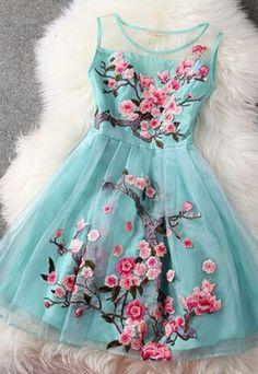 2015 new style organza short prom dresses, flower dresses, summer dresses