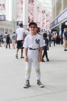 """""""One time I hit a home run. The pitcher threw the ball, well, the pitcher was my dad, so my dad threw the ball and I hit it all the way to the yellow pole, which means it was a home run. I'm not sure if we won the game or not because we don't keep score."""""""