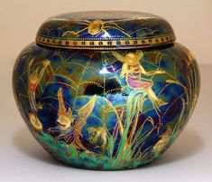 Daisy Makeig-Wedgwood Fairyland Lustre1 In 1931 Jones was asked to retire from Wedgwood. This angered her so much, that she ordered one of the workers to smash up all her lustreware sample pieces. Ha Ha! Hell hath no fury like a creative woman scorned! Gotta love that! oxo gd - See more at: http://www.grandedame.co.uk/2012/04/16/daisy-makeig-jones-fairyland-lustreware/#sthash.tEVCytUC.dpuf