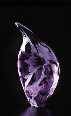 """*Art Glass - """"Ivy in Winter"""" by Elizabeth Sterling"""