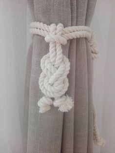 Curtain Tie Backs 2 Nursery Curtain Tie Back Gypsy Décor Boho