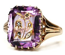 Victorian Amethyst Ring