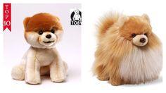 "BOO THE WORLD'S CUTEST DOG & BOO BUDDY  SET OF 2  9"" INCH SOFT PLUSH GUND NWT"