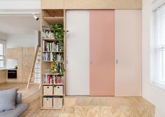 A Tiny Timber Box in a Tiny Urban Flat Makes Room for a Couple's First Child