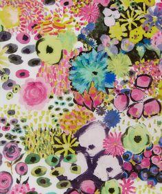 Liberty Art Fabrics Small Artist's Bloom Tana Lawn Cotton | Fabric | Liberty.co.uk