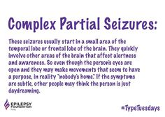 Fun with Associated Syndrome : Silent Seizures Myoclonic Epilepsy, Epilepsy Facts, Epilepsy Types, Types Of Seizures, Temporal Lobe Epilepsy, Epilepsy Awareness, Epilepsy Quotes, Tension Headache, Headache Relief