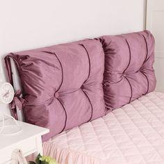 Diy Bed Headboard, Headboard Cover, Cushion Headboard, Headboards For Beds, Headboard Ideas, Home Bedroom, Diy Bedroom Decor, Diy Home Decor, Bedroom Small