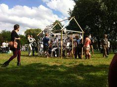 Mijn kopieerhuisje tijdens Duizel in het park 2014!