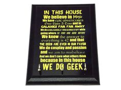 The image has a High Gloss finish. Perfect for any geeky fan. We offer 6…