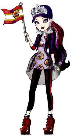 Raven Queen. School Spirit