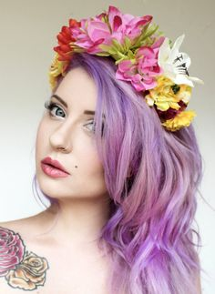 Beautiful handmade floral headband perfect for weddings, festivals or special occasions. One size.
