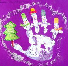Новогодние поделки для детей 1,5- 2 года - 3 лет (и не только).