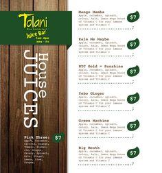 Whole foods juice bar superfresh pinterest bar for Whole food juice bar menu