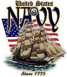 United States Navy, Since 1775 Military Humor, Navy Military, Military Life, Military Art, Military Signs, Go Navy, Navy Mom, Us Navy Birthday, Happy Birthday