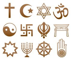 A person's faith or religion, also shapes how they vote. Roman Catholic's, People who are Jewish, and liberal Protestant's tend to vote for the Democrats. Those who are more conservative in their beliefs vote for the republicans. Spiritual Symbols, Religious Symbols, Religious Education, Symbols And Meanings, World Religions, Christianity, Meant To Be, Spirituality, Faith