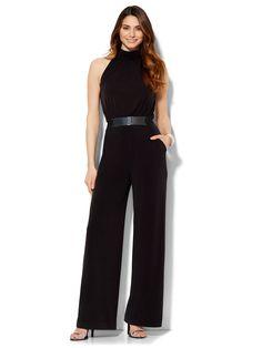 nyandcompany---- Belted-Soft-Jumpsuit----Iliana Papageorgiou----07466705_006---- Jumpsuit, Model, Dresses, Fashion, Overalls, Vestidos, Moda, Fashion Styles