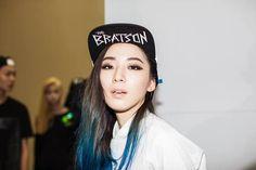 Irene Kim at KYE Spring 2014 Seoul Fashion Week by Mac Park