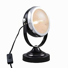 Lampa stołowa Biker czarny - 90092